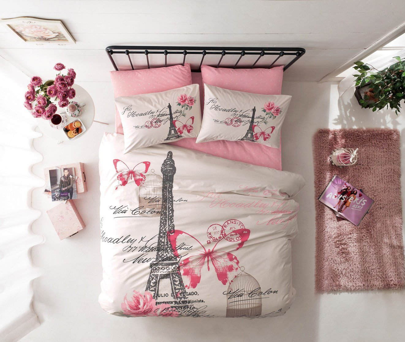 Paris  Eiffel Tower Themed Bedding for Less