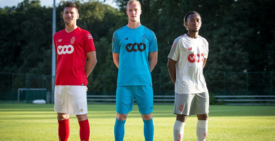Standard Liège 18-19 Kits Revealed bbfa4e045