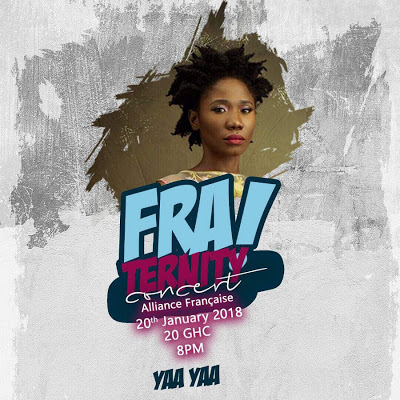 "Yaa Yaa To Perform At The ""FRAternity"" Concert On January 20"