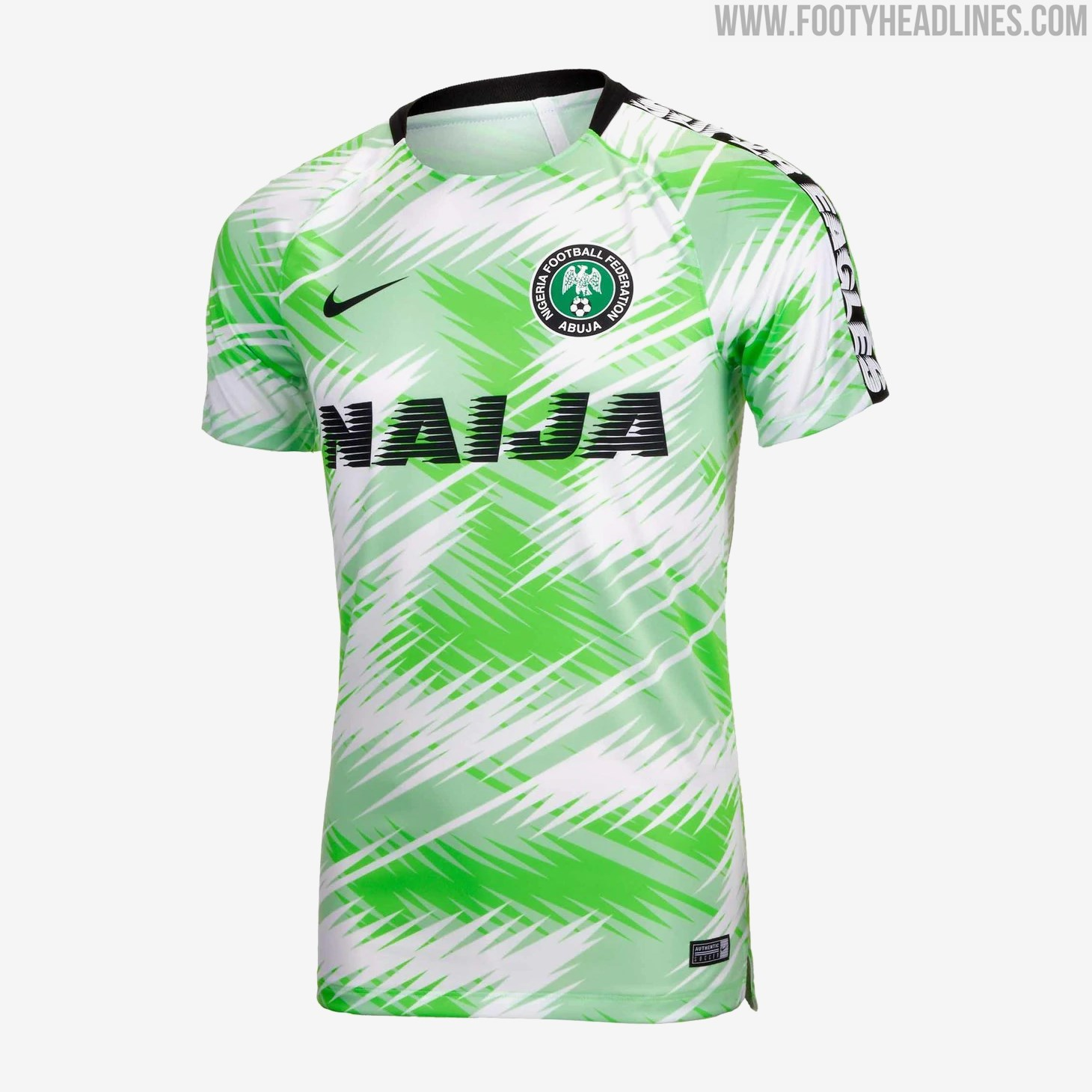 Nigeria Wm Trikot 2021