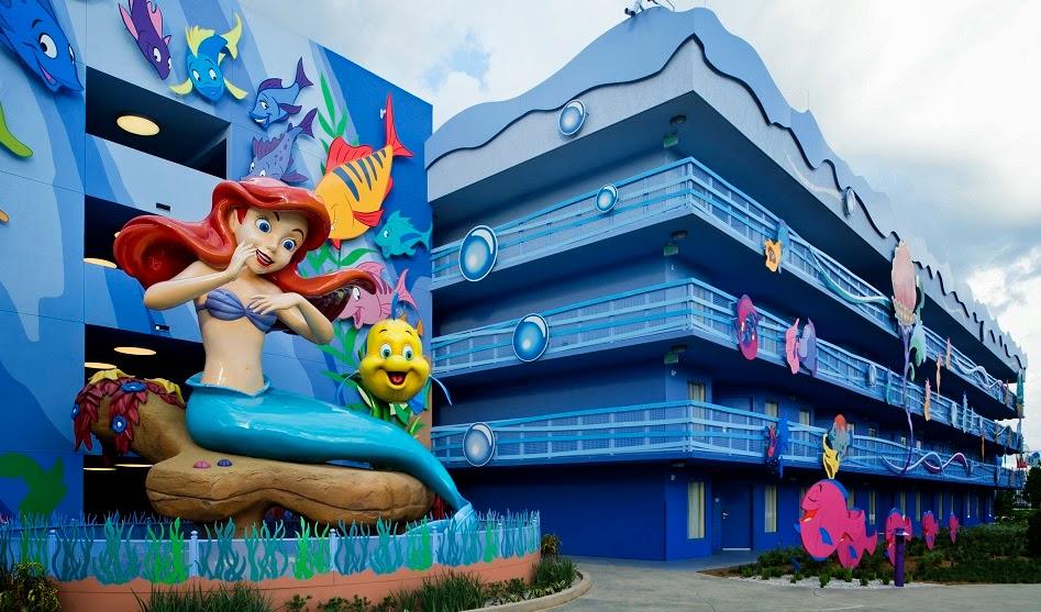 Hotel da Disney Arts of Animation em Orlando