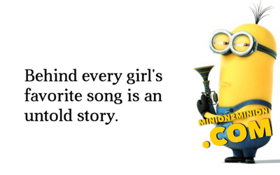 Sweet Message I Love You Minion Funny Quotes About Life Love