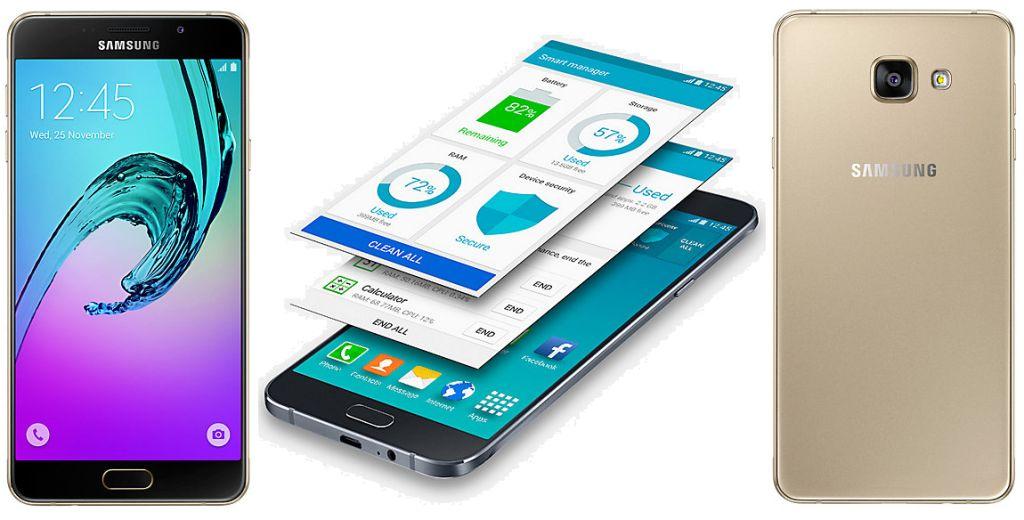 Samsung Galaxy A7 (2016) beserta fitur dan spesifikasi lengkap