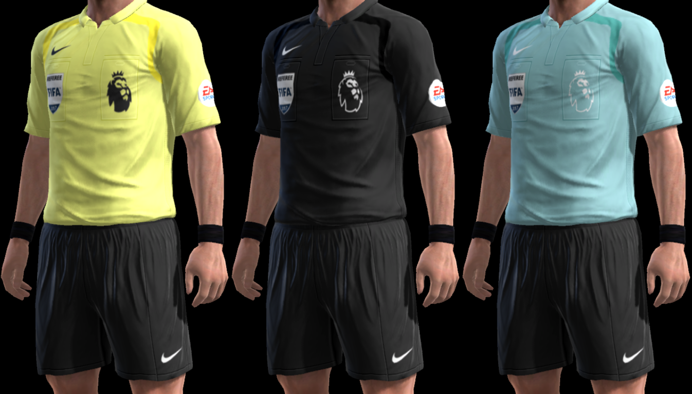 PES 2013 Premier League Referee Kits 17-18 by m4rcelo