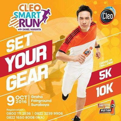Cleo Smart Run with Daniel Mananta
