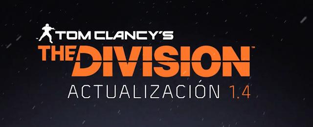 The Division comparte la actualización 1,4 con grandes novedades