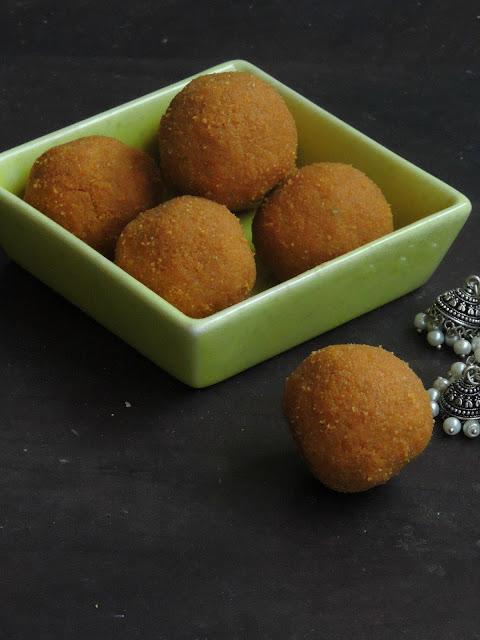 Toordal Laddoos, Toordal Sweet balls