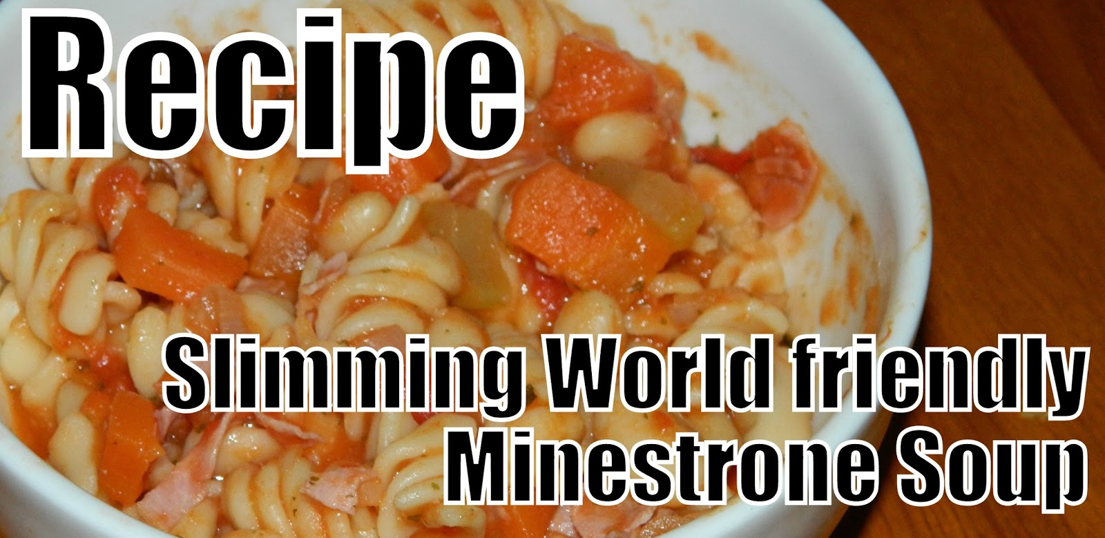 recipe, minestrone soup, slimming world