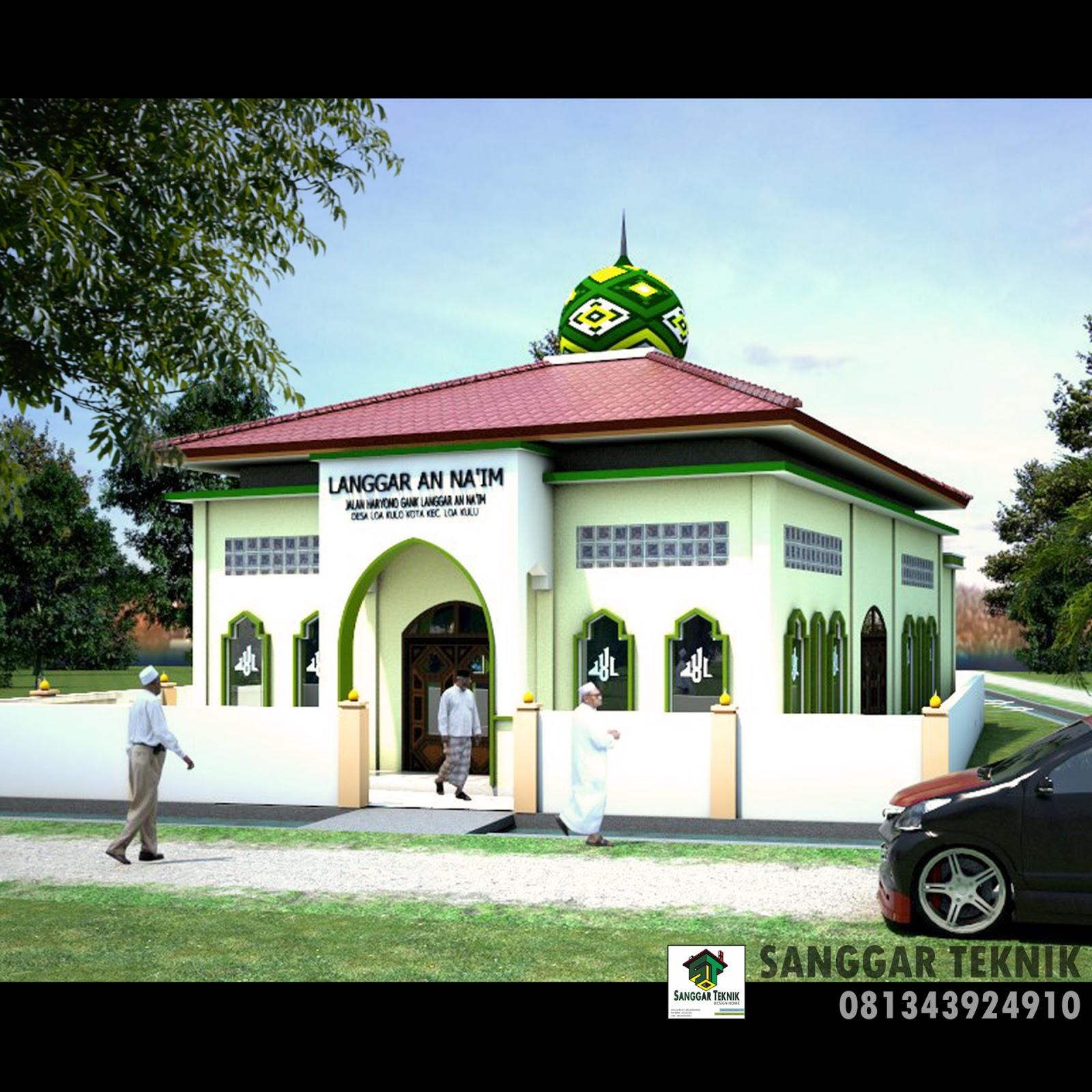 Desain Rumah Minimalis Modern Dwg Gambar Om