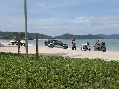 Aktiviti di Pantai Cenang