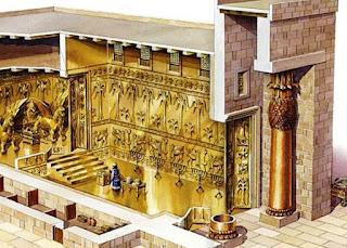 Isi dari ruangan Kuil king solomon