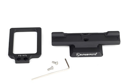 Sunwayfoto PS-N7 base plate + PS-N7L side plate + tools