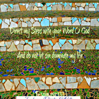Direct my steps with your word and do not let sin dominate my life Psalm 110:133
