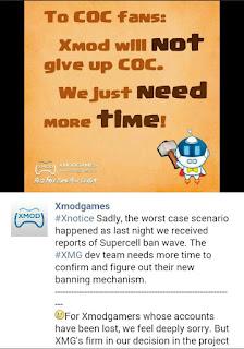 Game COC Dari Supercell Membanned Massal Player Pengguna Xmodgames