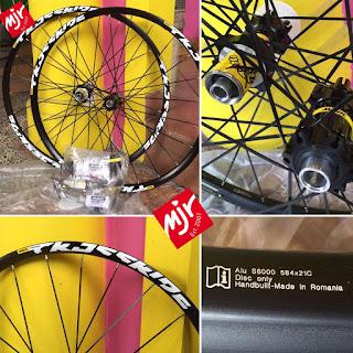 Wheel Set 27.5 Mavic Crossride Terbaru Bisa QR bisa TA