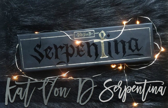 Kat Von D Serpentina Palette Review and FOTD