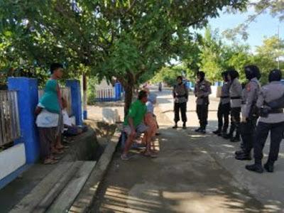 Cegah Gangguan Kamtibmas, Polres Haltim Kerahkan Polwan Berpatroli