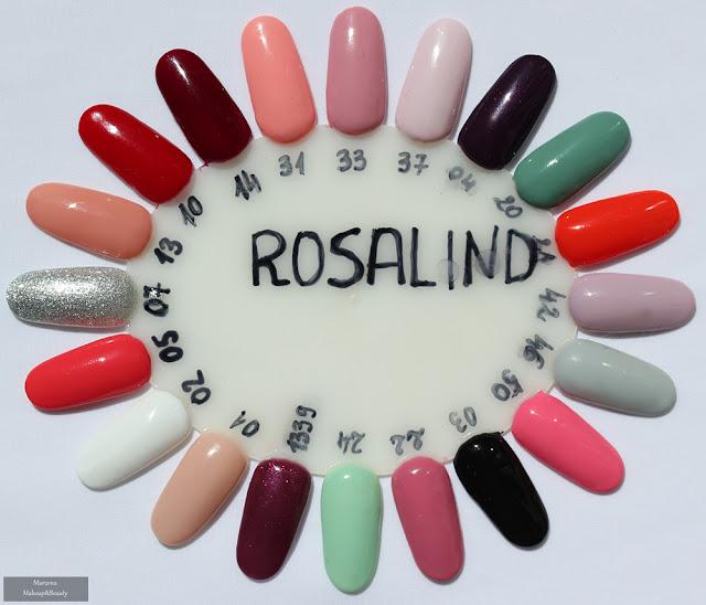 rosalind swatche kolory