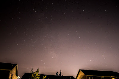 backyard milky way
