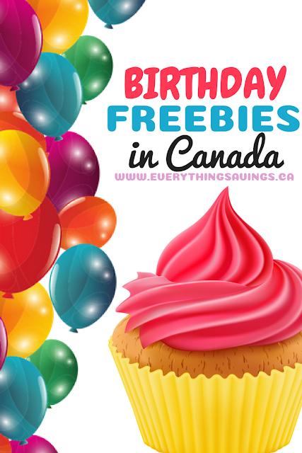 Birthday Freebies in Canada