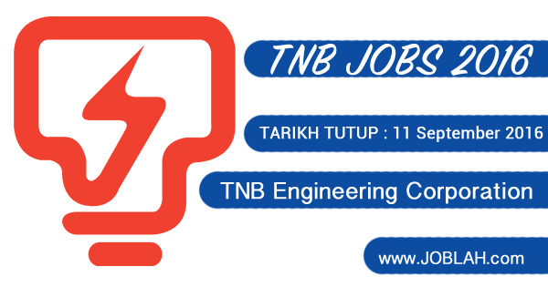 Jawatan Kosong TNB Engineering Corporation