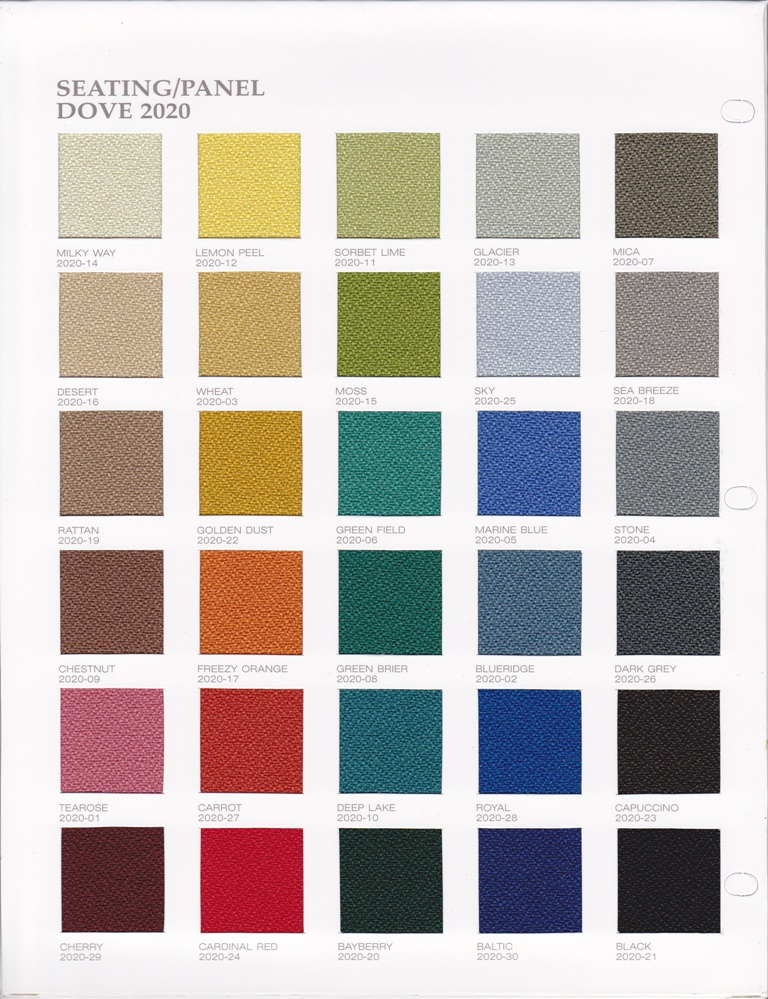 Focus Tnl Office Concept Color Chart For Chairs