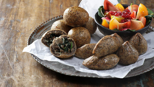 Kibbeh battata is one of the famous traditional Lebanese appetizer Kibbeh Battata Recipe