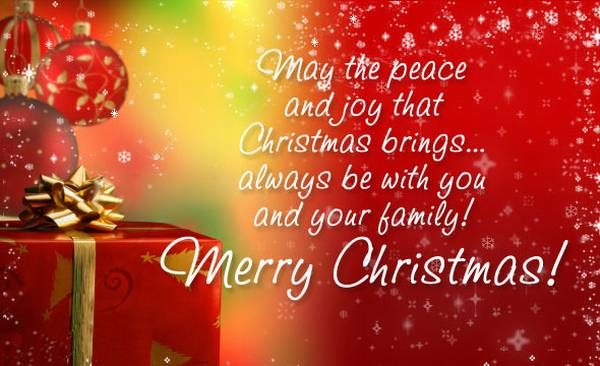 happy merry christmas messages