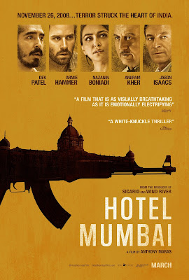Hotel Mumbai 2019 Hindi 720p WEB HDRip 600Mb HEVC