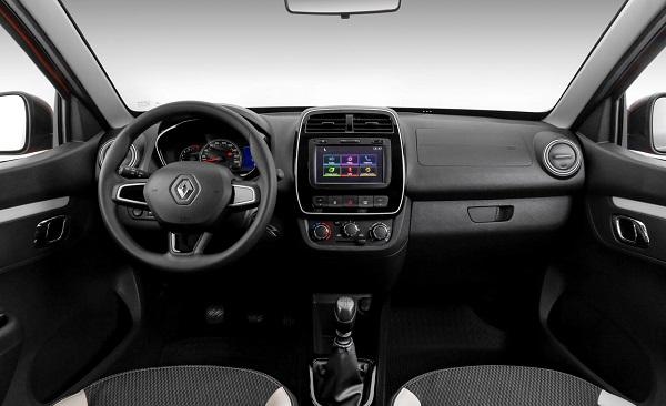 Interior Renault Kwid Intens