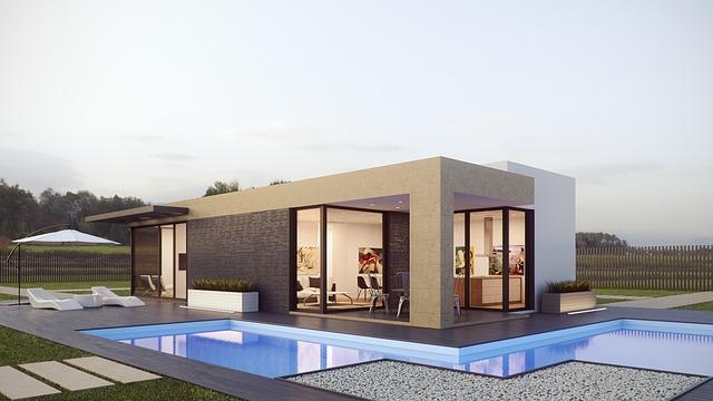 Architecture Render External Design Photoshop 3d