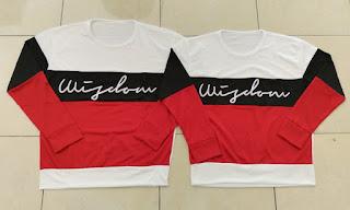 Jual Online Sweater Wisdom Saga White Black Murah Jakarta Bahan Babytery Terbaru