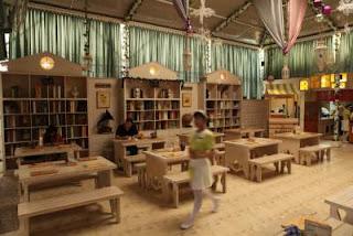 library cafe atau perpustakaan kafe