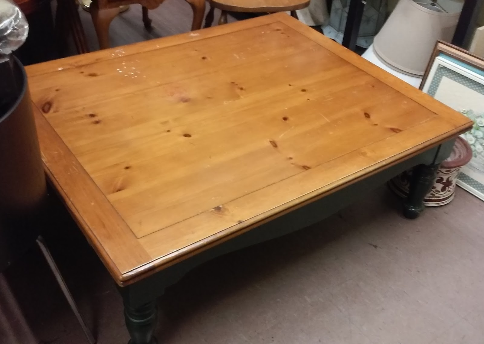 x 40 country pine coffee table 15