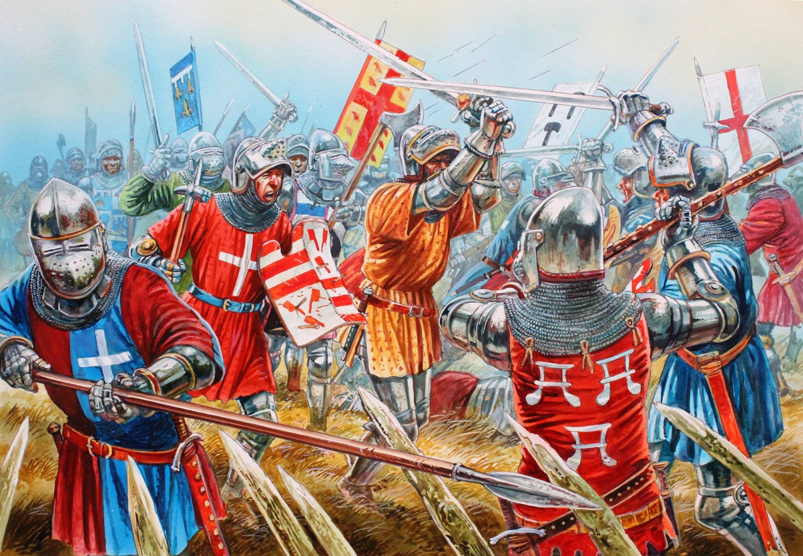 Wargame News And Terrain Perry Miniatures Agincourt