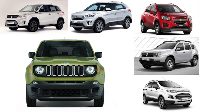 comparativa jeep renegade sport vs cinco rivales directos autoblog uruguay. Black Bedroom Furniture Sets. Home Design Ideas