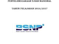 POS UN Terbaru Tahun Pelajaran 2016/2017