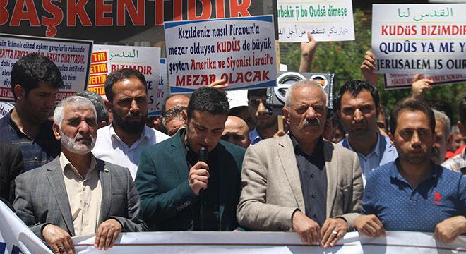 Diyarbakır Ergani'de siyonist çetenin katliamları lanetlendi