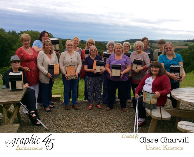 Graphic 45 Workshop with Clare Charvill