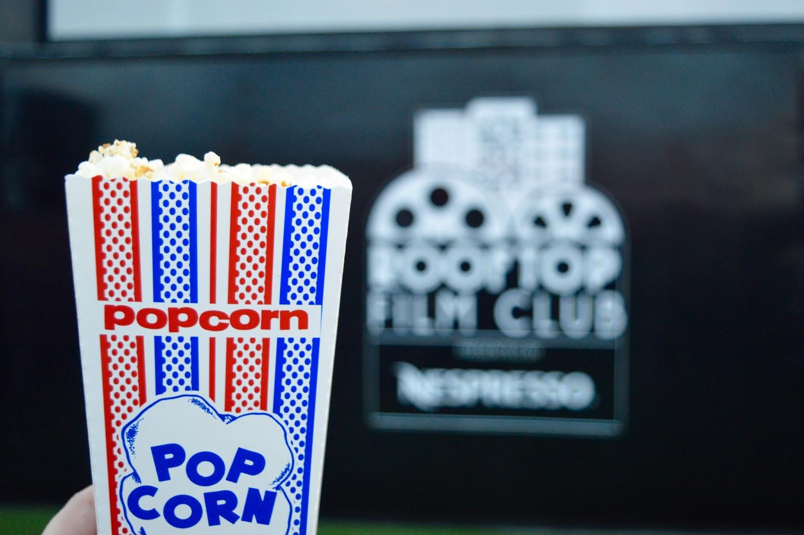 Rooftop Film Club Popcorn