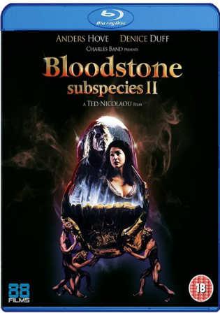 Bloodstone Subspecies II 1993 BRRip 650MB Hindi Dual Audio 720p Watch Online Full Movie Download bolly4u