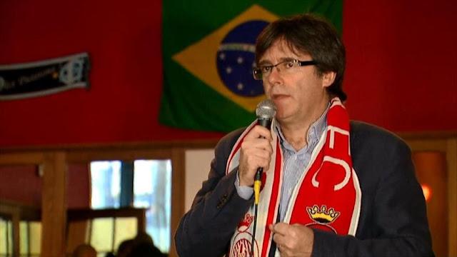 Puigdemont critica a Madrid por atemorizar a los independentistas