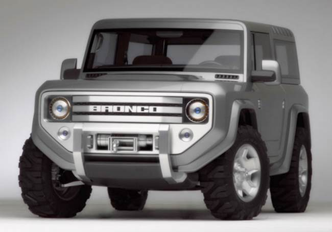 2018 Ford Bronco Concept Release Date Auto Review Release