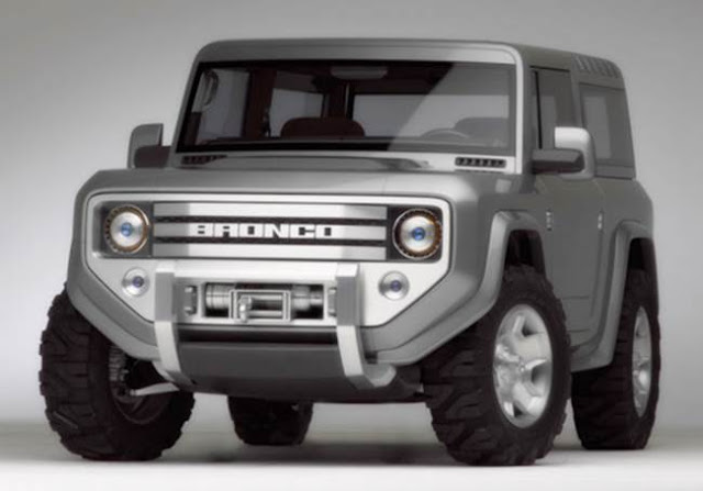 2018 Ford Bronco Concept Release Date
