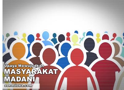 Masyarakat Madani, Upaya Mewujudkan Masyarakat Madani, Pengertian Masyarakat Madani, Masyarakat Madani Adalah, Ciri-ciri Masyarakat Madani, Karakteristik Masyarakat Madani, Masyarakat Madani di Indonesia,