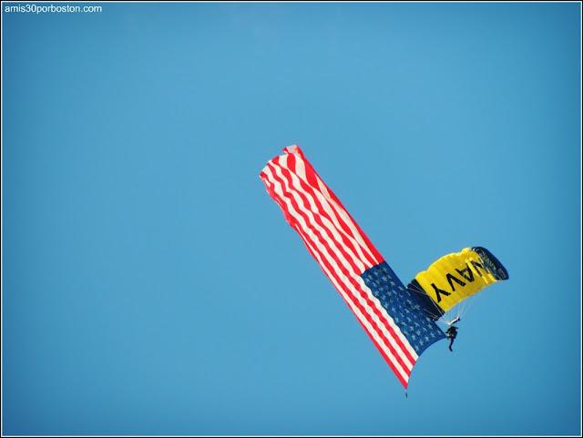 Día de la Independencia 2015 en Boston: Espectáculos Aéreos