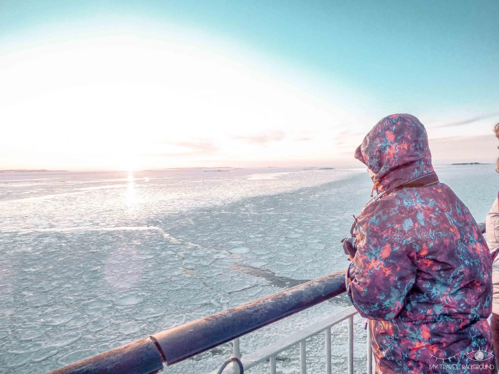 My Travel Background : Escale à Tallinn en Estonie, la perle de la Mer Baltique - Naviguer sur la Mer Baltique gelée