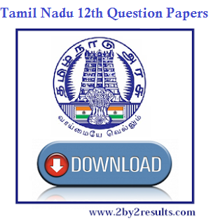 Tamil Nadu Botany previous year Question papers