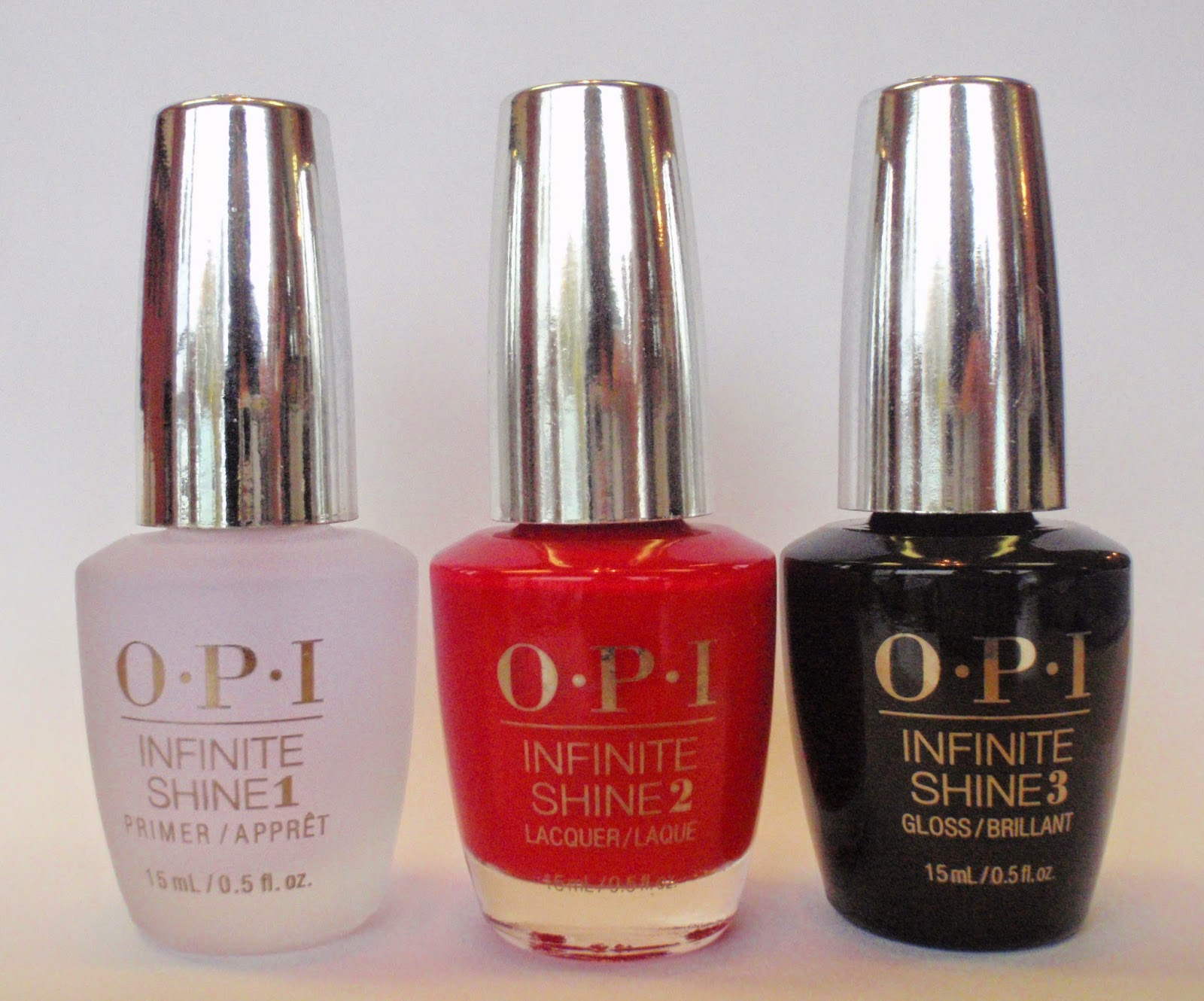 opi infinite shine primer,color, gloss