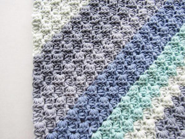 Crochet Stitch Tutorial: Corner to Corner (C2C) with Half Double Crochets